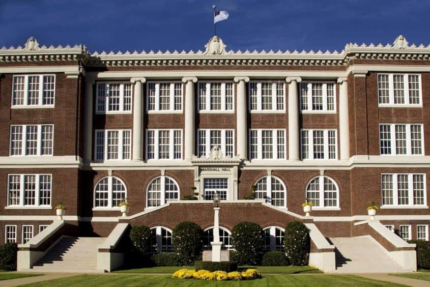 East Texas Baptist Univesity Marshall Hall
