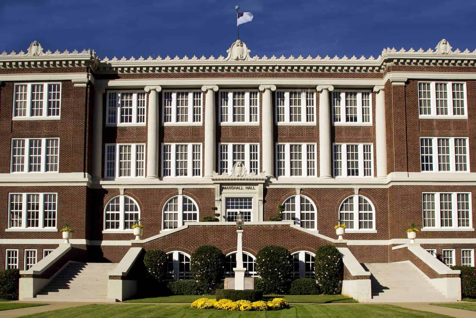 East Texas Baptist Univesity Marshall Hall