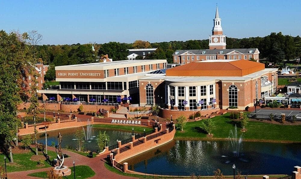 high point university tuition 2020