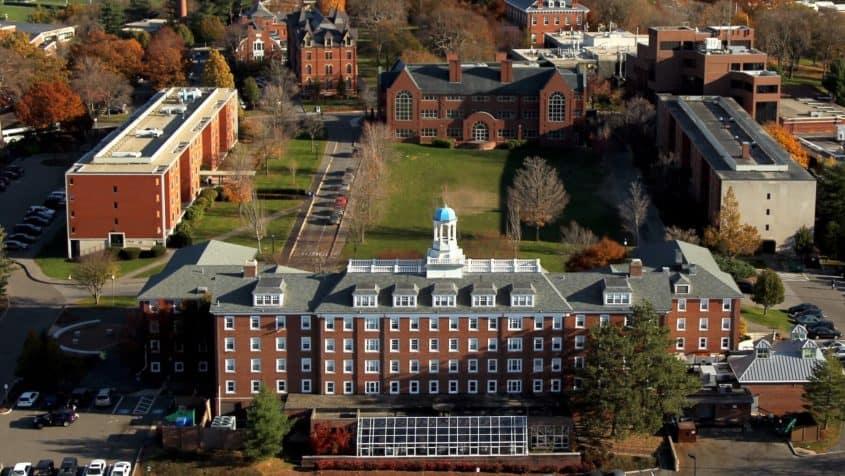 Tufts University Campus Aerial
