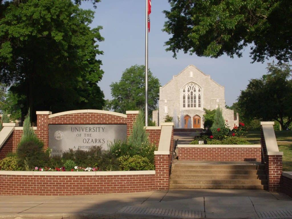 University of the Ozarks campus