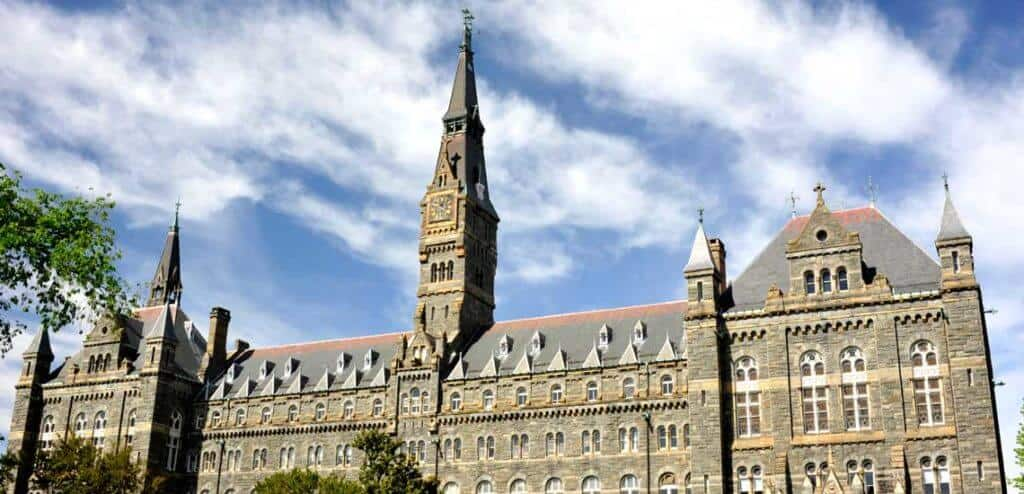 Georgetown University Rankings Tuition Acceptance Rate Etc