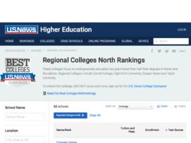 remote usnews regional colleges north