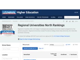 remote usnews regional universities north