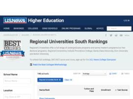 remote usnews regional universities south