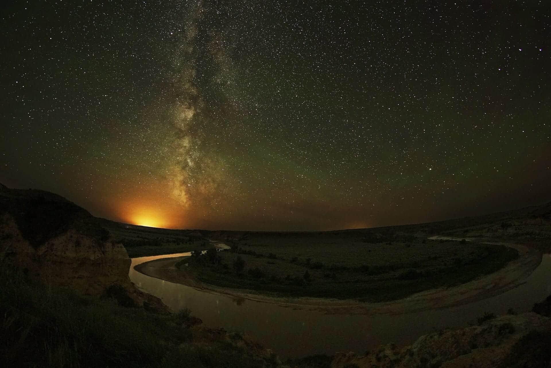 aurora borealis north dakota