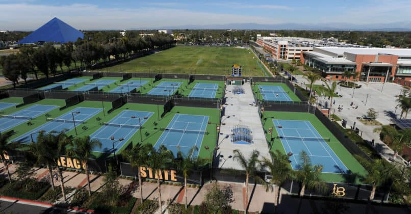 CSU long beach tennis