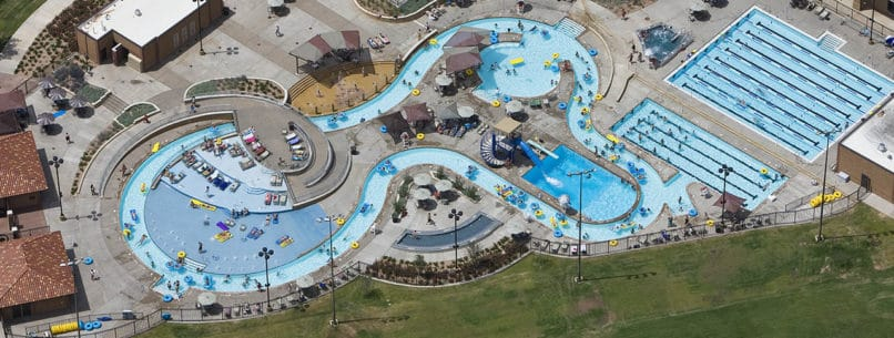 Texas Tech leisure pool