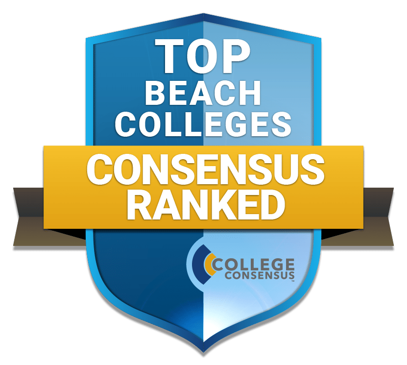 Top Beach Colleges Consensus Ranked