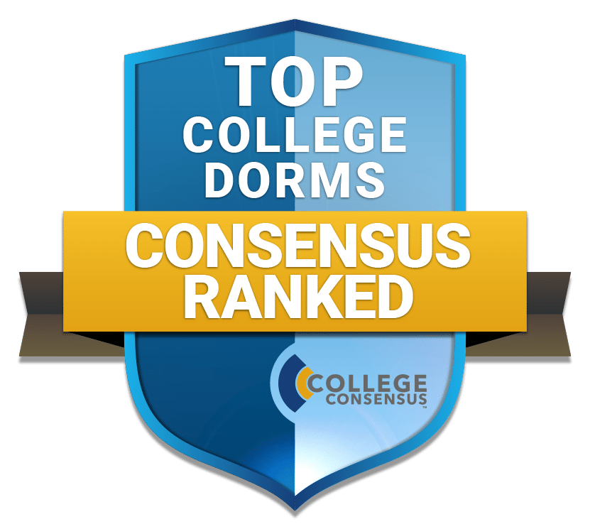 Top College dorms Consensus Ranked