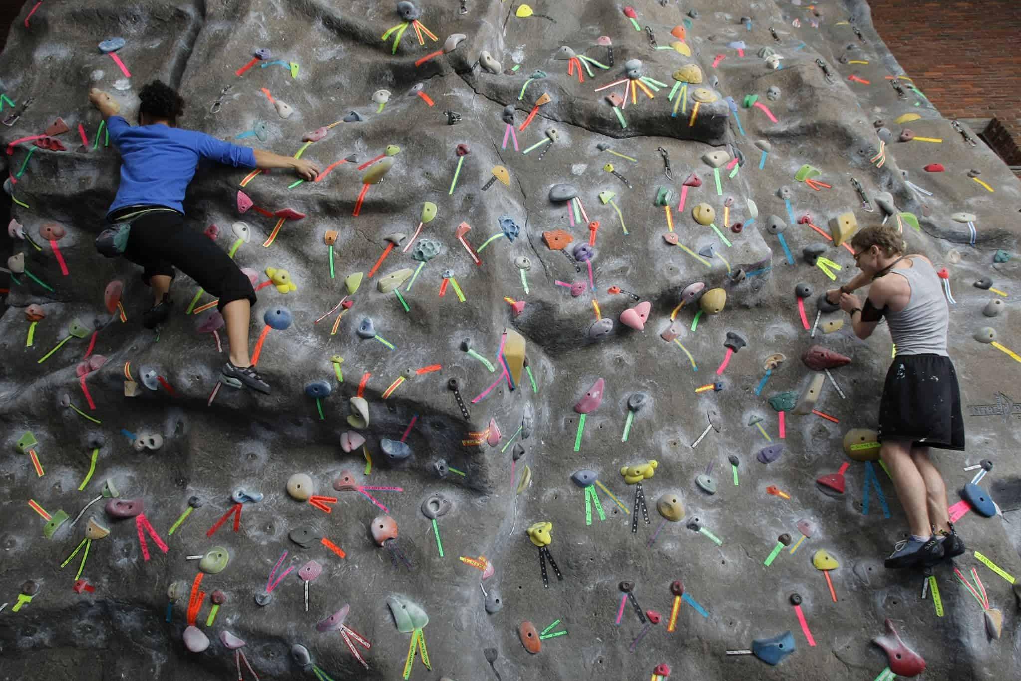 UPenn Boulder Wall rec