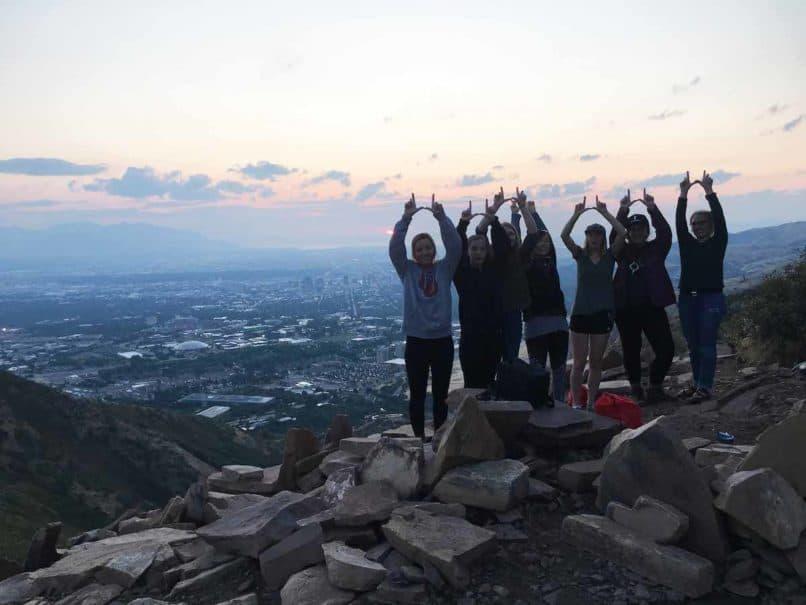 Utah utes environmental hike
