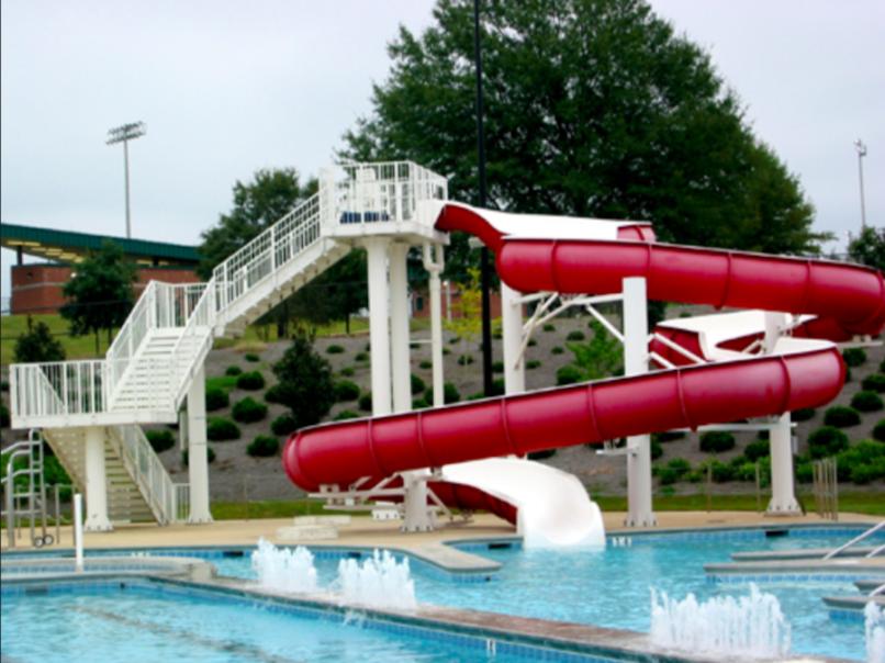 bama water slide