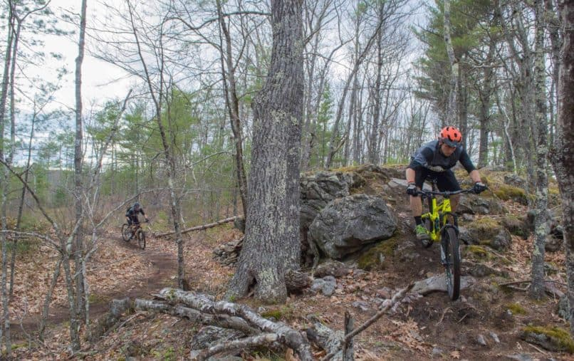 bates mountain biking