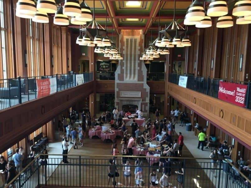 Washington university dining
