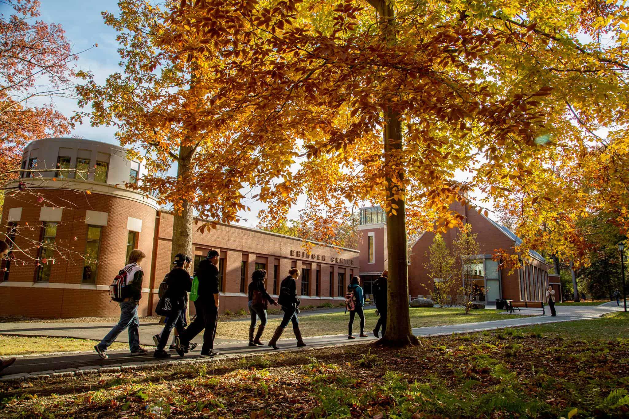 drew university fall foliage