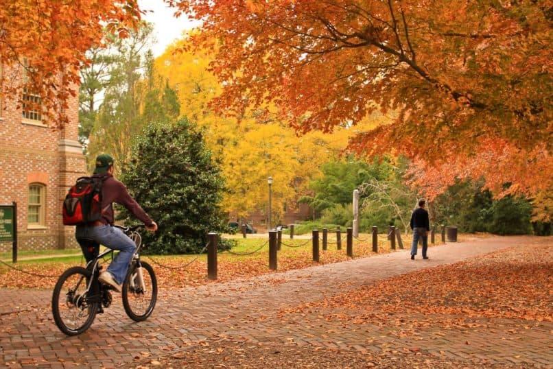 william mary fall foliage