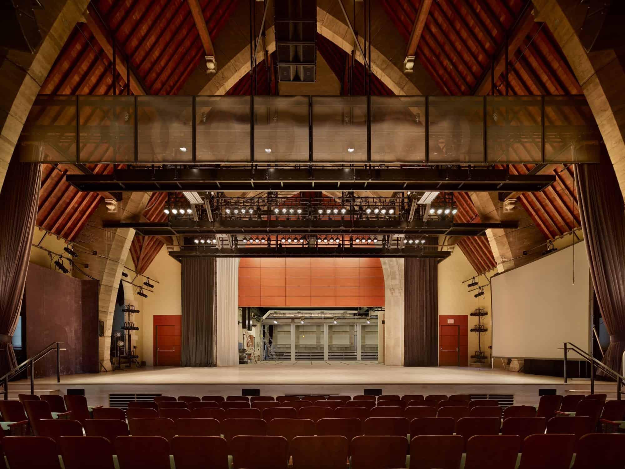 Marjorie Walter Goodhart Theater Bryn Mawr College