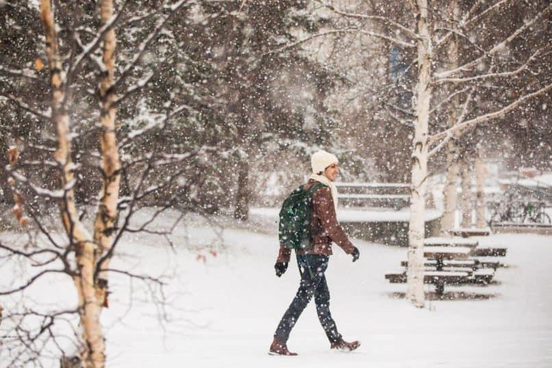 University of Alaska Fairbanks snowday