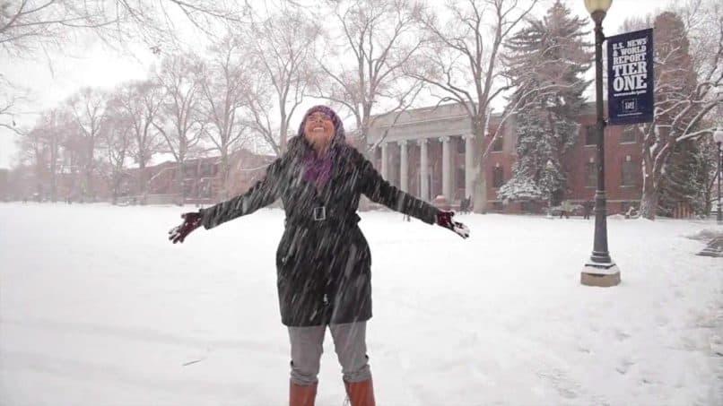 University of Nevada Reno snowday