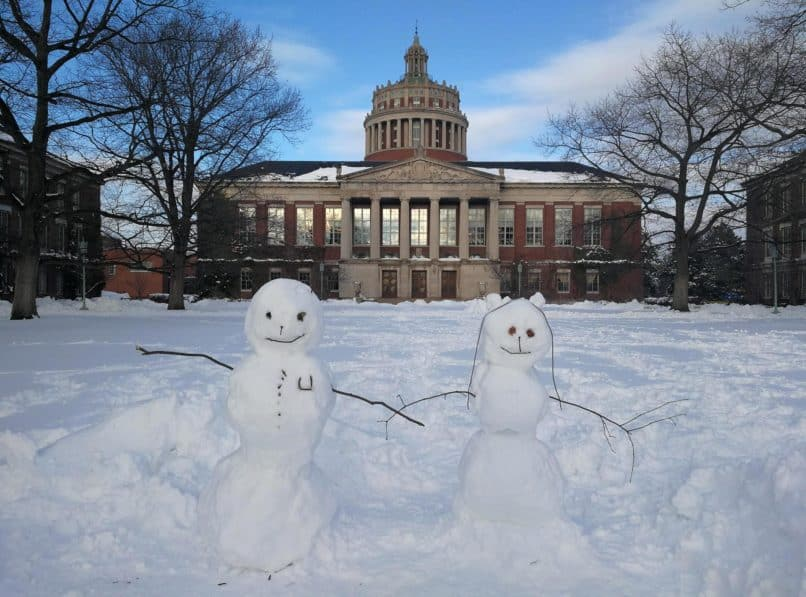 University of Rochester snowmen