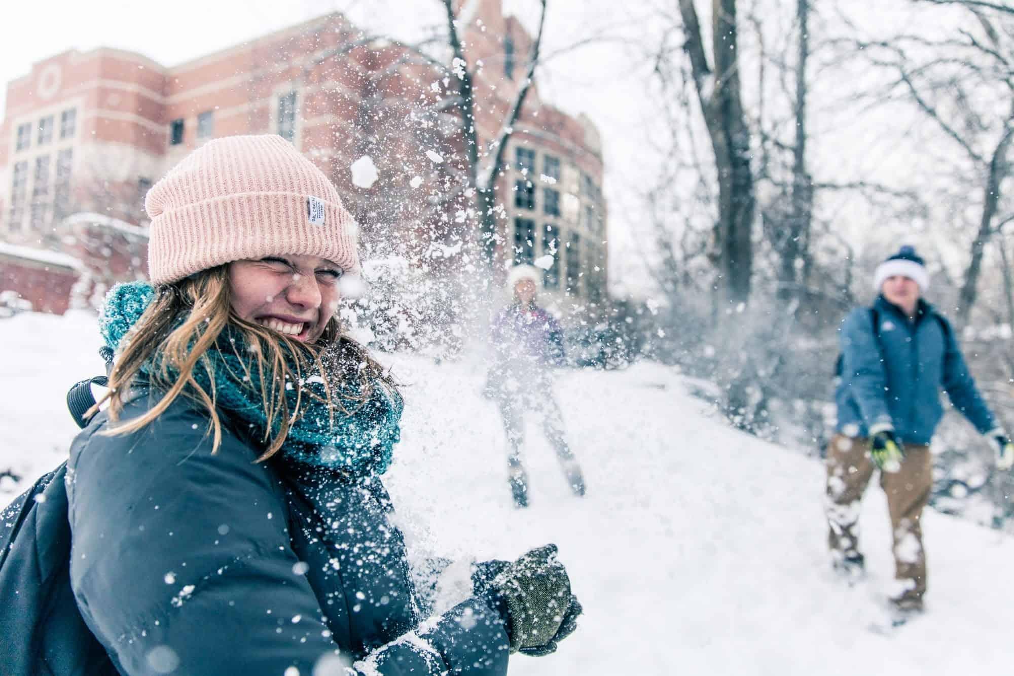 Westminster College utah snowday