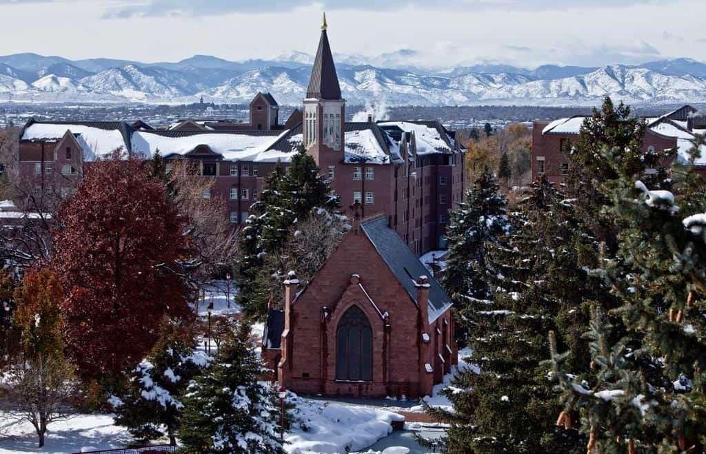 university denver snow day