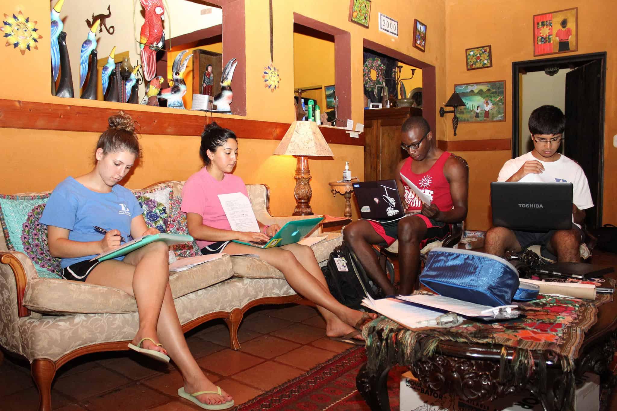 Duke University Global Health Institute students