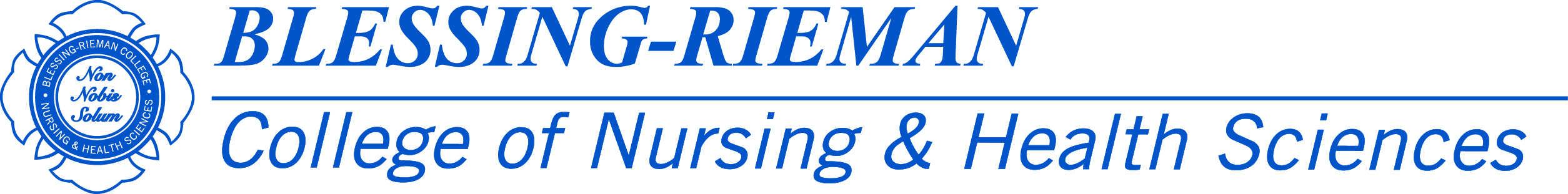 blessing rieman college of nursing health sciences logo 5383