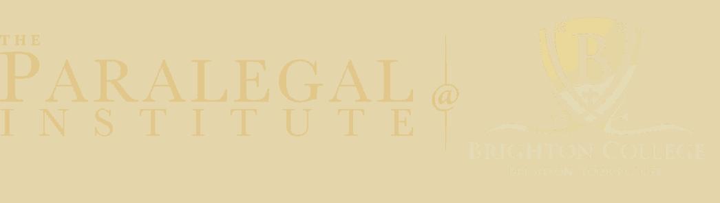 the paralegal institute at brighton college logo 8053