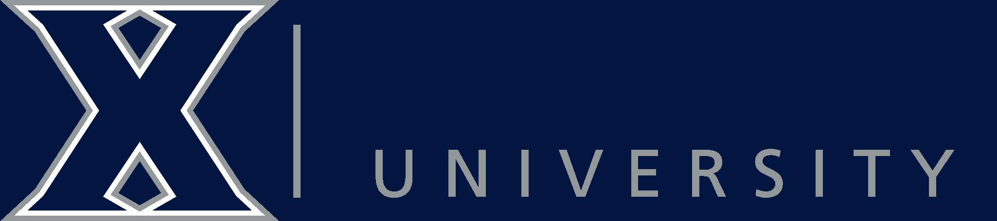 xavier university logo 9782