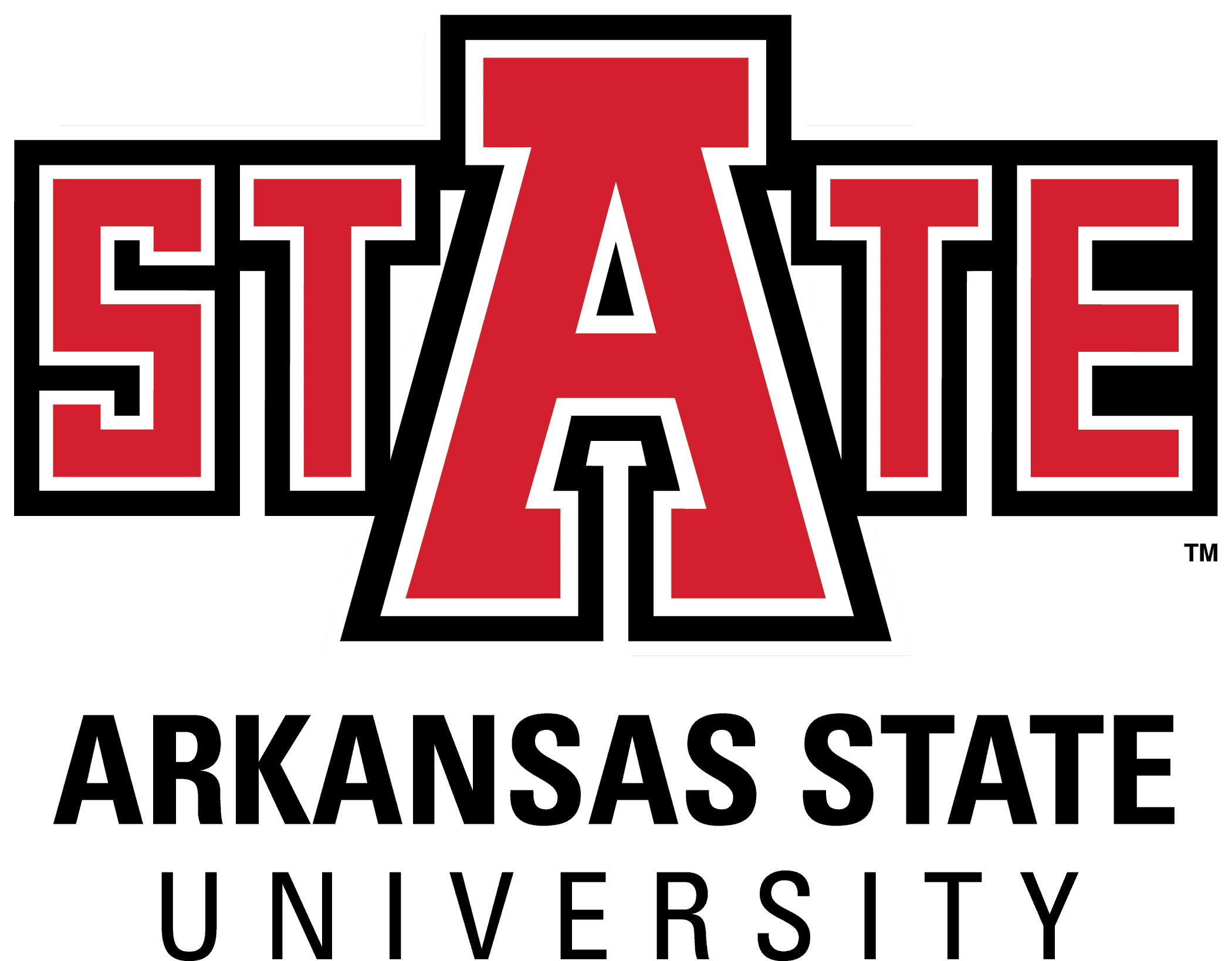 Arkansas State University logo from website