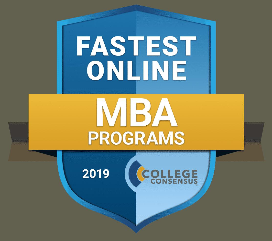 College Consensus fastest mba