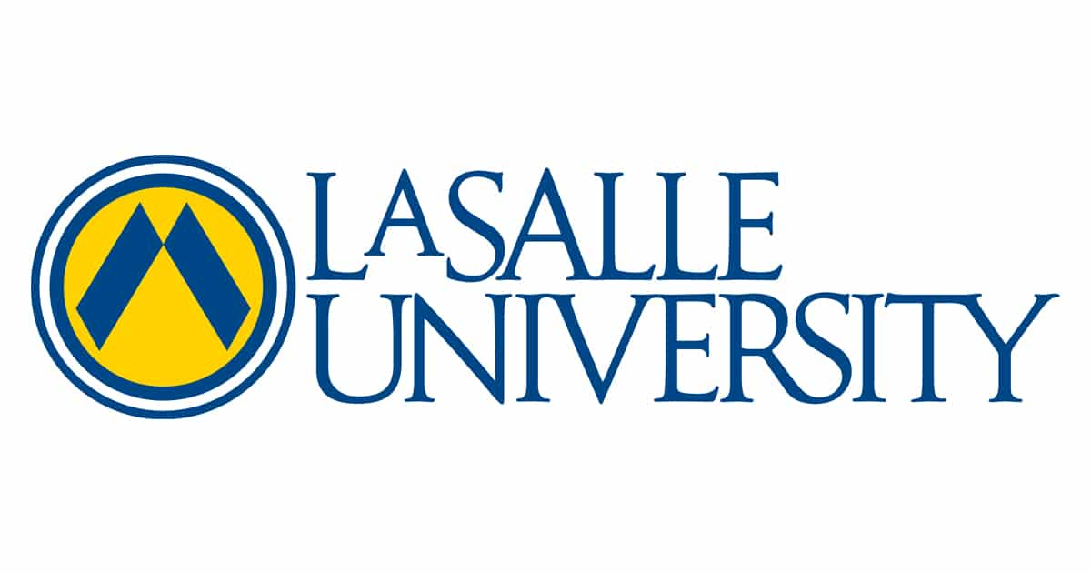 La Salle University logo from website