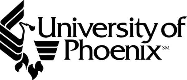 University of Phoenix logo from website