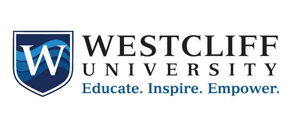 Westcliff University logo from website