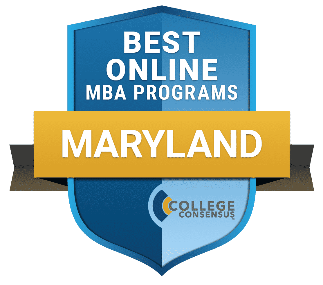 College Consensus Best Online MBA Programs in Maryland