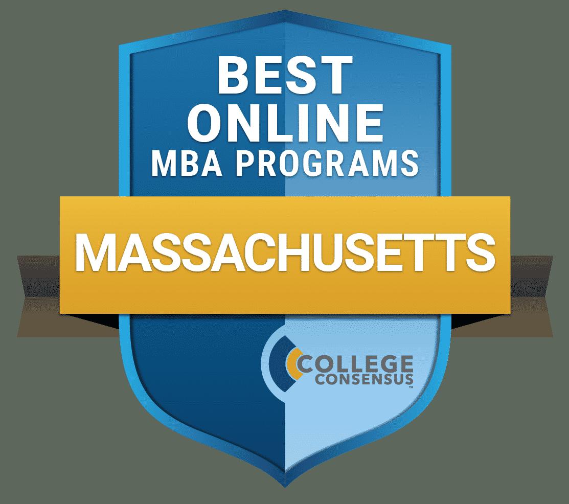 College Consensus Best Online MBA Programs in Massachusetts