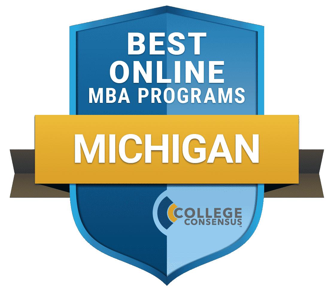 College Consensus Best Online MBA Programs in Michigan