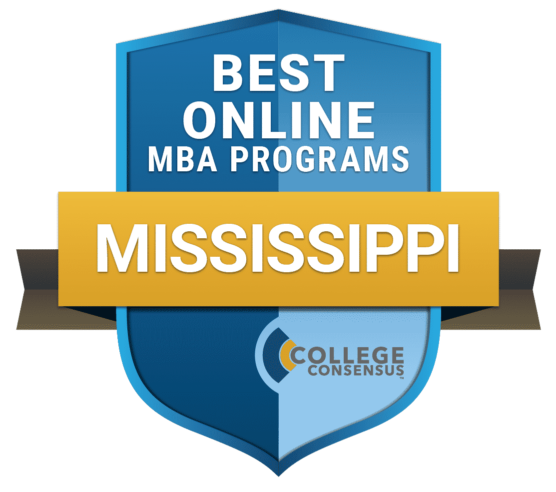 College Consensus Best Online MBA Programs in Mississippi