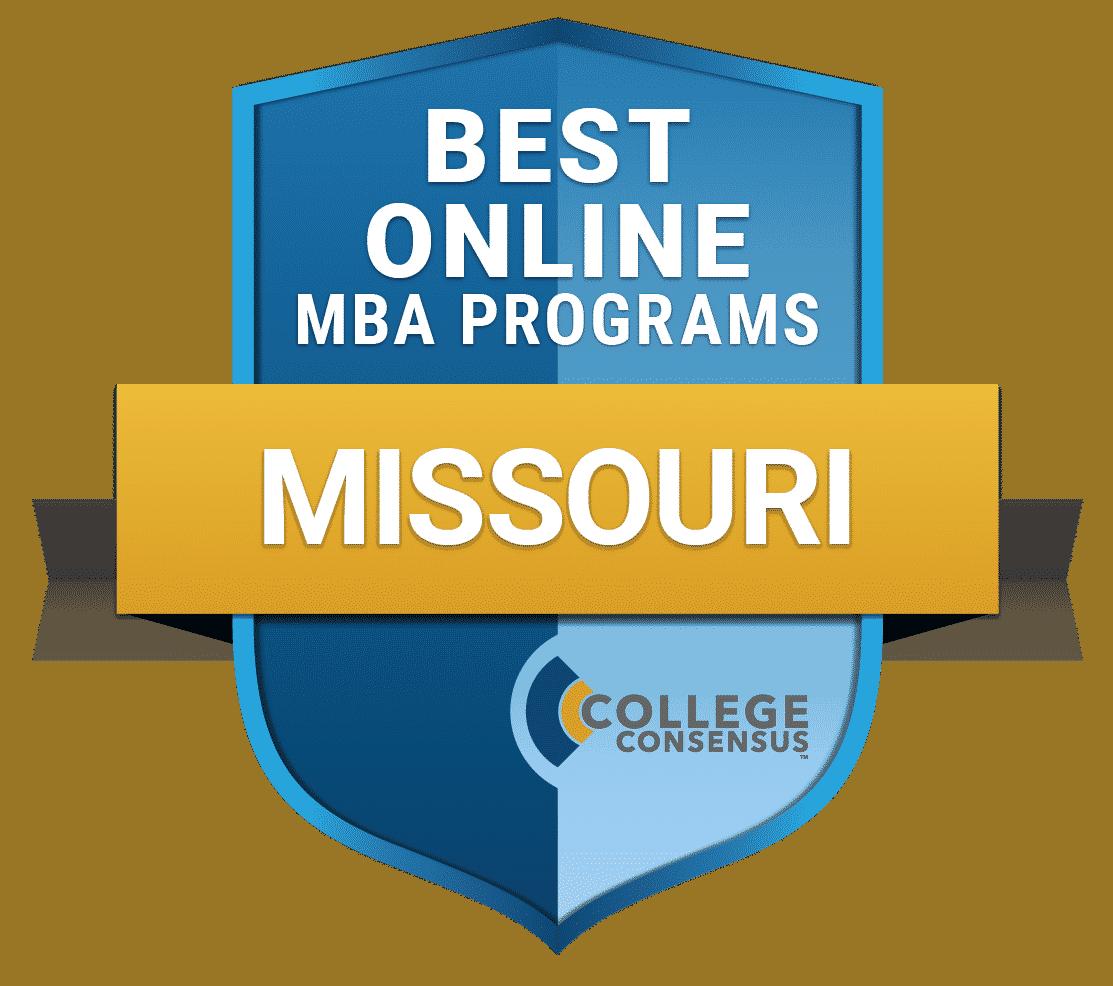 College Consensus Best Online MBA Programs in Missouri