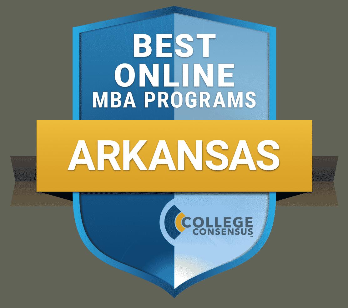 College Consensus Best Online MBA programs in Arkansas