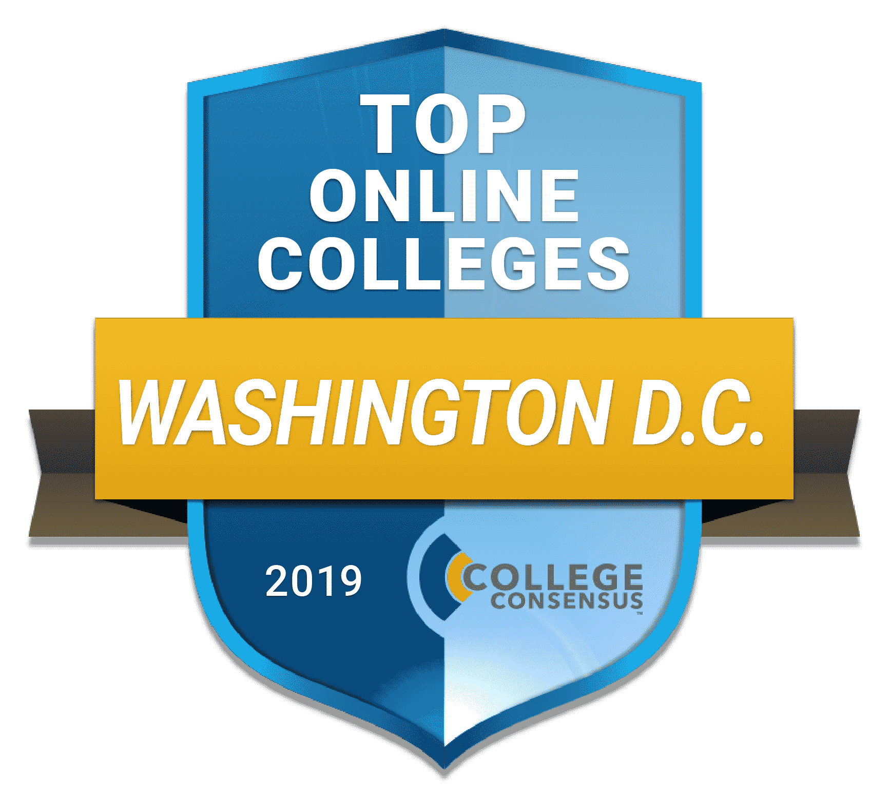 Consensus Ranked STATES top online DC