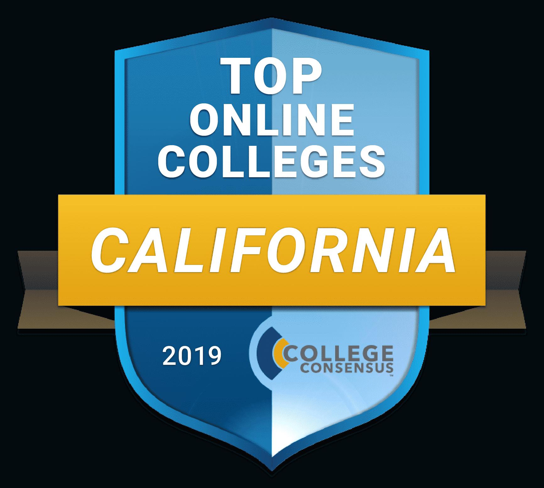Consensus Ranked STATES top online california