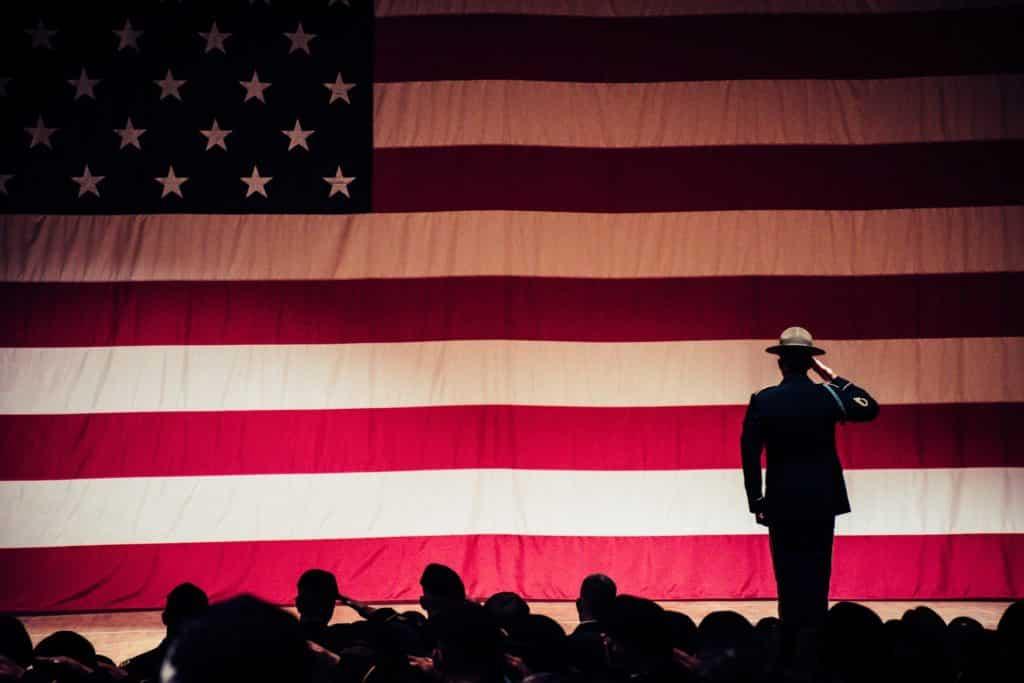 administration america american flag vets