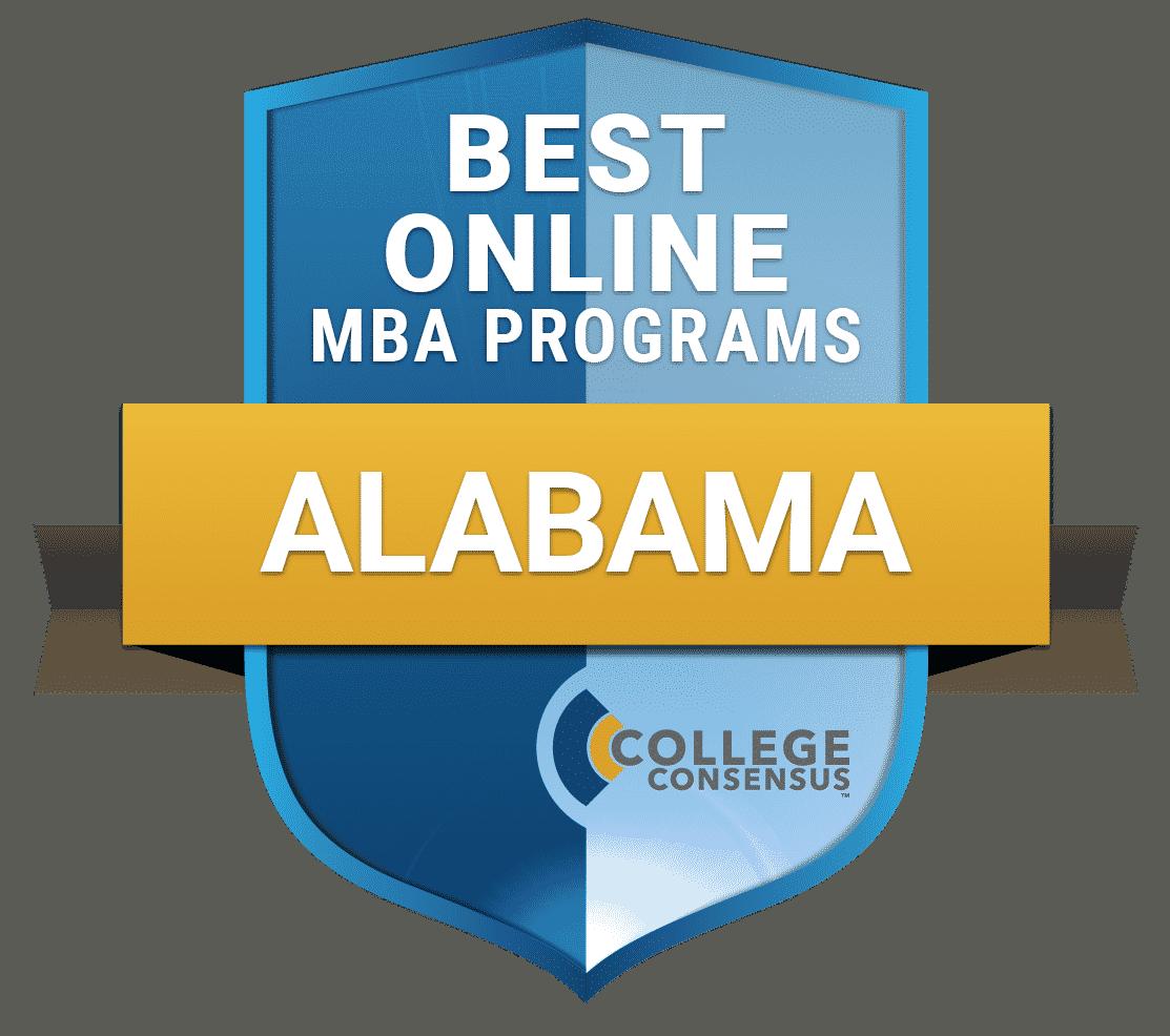 College Consensus Best Online MBA Programs in Alabama