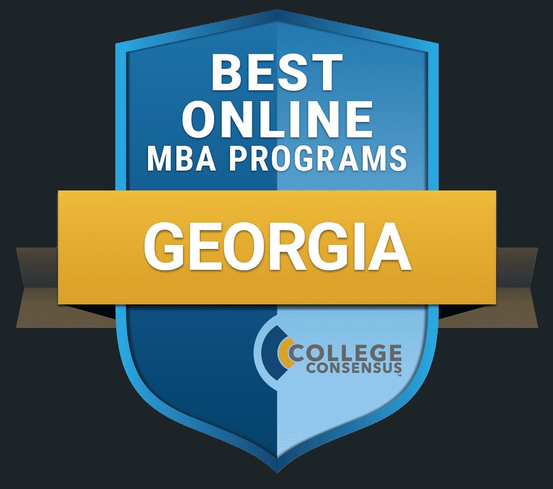 College Consensus Best Online MBA Programs in Georgia