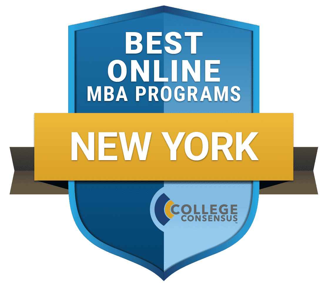 College Consensus Best Online MBA Programs in New York