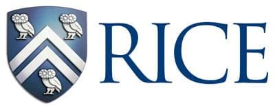 Rice University logo from website