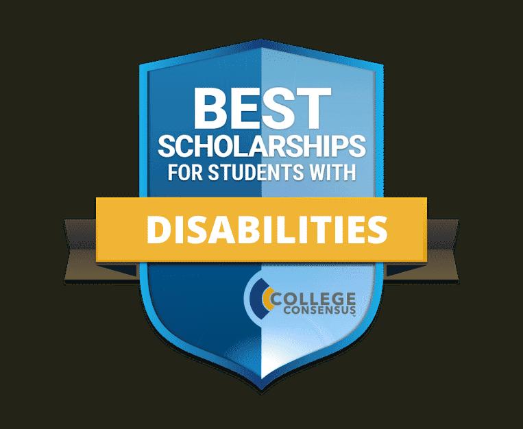disabilities scholarship badge